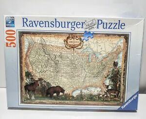 Ravensburger America on Mercator's Projection 500 Piece Puzzle 14 215 6