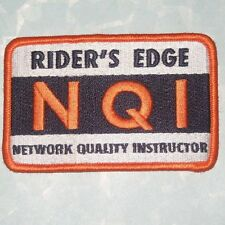 Rider's Edge NQI Network Quality Instructor Patch