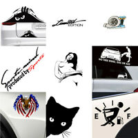 1x Funny 9 Types Car Sticker Truck Boat Window Bumper Vinyl Decal Decoration