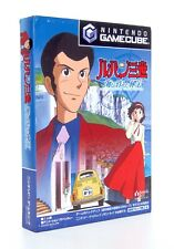 LUPIN THE 3RD Lost Treasure Under The Sea Nintendo Gamecube GC Japan