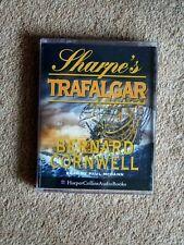 BERNARD CORNWELL - SHARPE'S TRAFALGAR   -AUDIO BOOKS - ( 2 CASSETTES   )