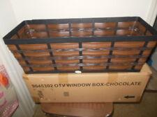 Longaberger On the Veranda  Chocolate Window Box! Brand New!  Perfect for Summer