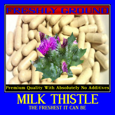 Milk Thistle With Absolutely No Additives Detox 100 Vegetable Capsule