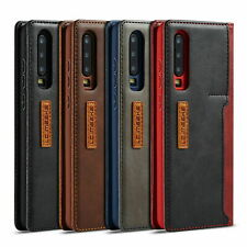 Leather Flip Wallet Stand Card Phone Case Cover For Huawei P20 P30 Pro Mate 20