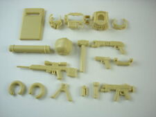 (on sale Tan ) custom  Tactical military weapons   police  14 parts for lego