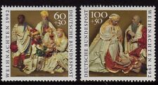 Germany 1992 Christmas Stamps SG 2488-2489 MNH