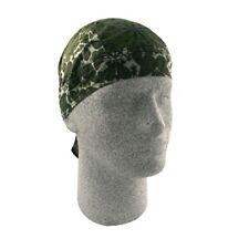 Olive Army Green Paisley Doo Rag Durag Headwrap Bandanna Flydanna Free Shipping