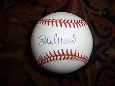 Stan Musial Autographed MLB Baseball