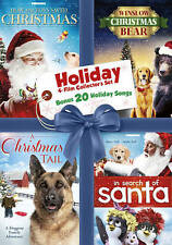 Set of 4 Holiday Movies-DVD+Bonus Holiday Songs-Great Family Entertainment!!!