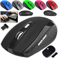 2.4GHz Wireless Cordless Mouse Mice Optical Scroll For PC Laptop Computer+USB
