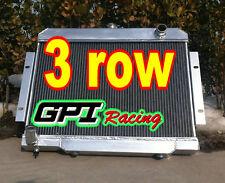 3 Row JEEP CJ CJ5/CJ6/CJ7 1972-1986 73 74 75 76 77  aluminum radiator