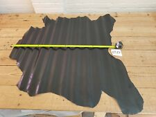 Black Buffalo Calf Leather 1.5mm Thick Whole Hide Top Quality Genuine EB27