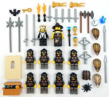 10 LEGO CASTLE KNIGHT MINIFIG LOT figures people king men minifigures soldiers