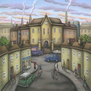 Paul Horton The Chocolate Factory Limited Edition Giclee print