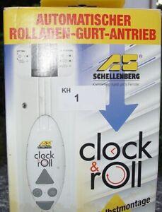 Automatischer Tag/ Nacht Sensor Rollladen-Gurt Antrieb neu Rolladen Motor