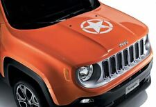 Jeep Renegade US Army Star Bonnet Decal in White - 71807398