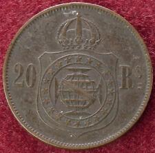 Brasil 20 Reis 1869 (C0610)