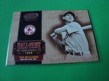2004 LEAF Certified Cuts HOF-50 TED WILLIAMS  83/94 Boston RED SOX HOF