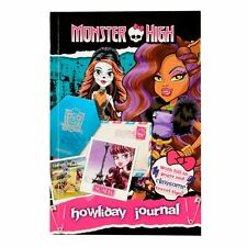 Monster High Howliday Journal Activity Book Travel Guide Paperback 208 Pages
