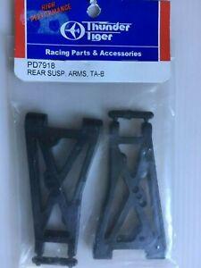 Thunder Tiger Tomahawk BX Rear Suspension Arms - 1 pair P/N PD7918