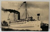 Boston, Provincetown Boat Steamer Governor Cobb Postcard D13
