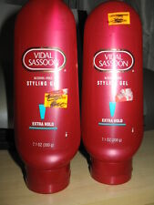 RARE 2 Vidal Sassoon EXTRA HOLD STYLING GEL NEW LOT OF 2