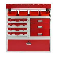 Racking Furgone sistema di scaffalature in metallo in acciaio Rack Strumento cassetti con serratura unità