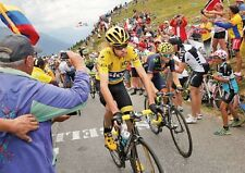 Chris Froome Tour de France 2015 Crowd Poster