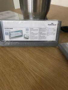 Durable Click 149X52.5mm Graphite Grey Door