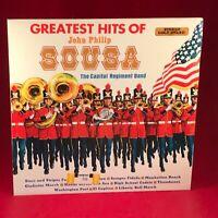 CAPITOL REGIMENT BAND The Greatest Hits Of John Philip Sousa 1970 UK Vinyl LP EX