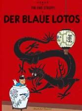 TIM UND STRUPPI 4 Der Blaue Lotos Hergé tintin