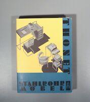Scarce Thonet tubular steel furniture Mies Marcel Breuer Perriand Corbusier 1989