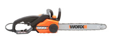 Worx 18-inch Bar 15-Amp Corded Electric Chainsaw, Auto Oiling System WG304.1 NEW