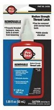 THREAD LOCKER 50ML BLUE AND RED PRO SEAL BRAND  2 PCS. NEW IN PACKAGE MADE IN US
