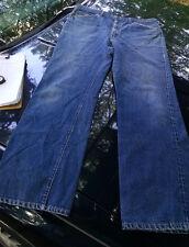 Vtg Levi's levi strauss denim jeans 517's boot cut single stitch 38x32 pants usa