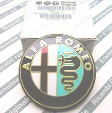 100% GENUINE ALFA ROMEO 147 156 GTA  New Rear Boot Emblem Badge 46822713