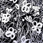 """Non-Transparent Printed Rayon Fabric Craft Material 43"""" Wide Sewing By 1 Yd"""