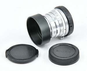 CLA'd & Polished Industar-26m 50mm F2.8 Portrait Lens For M4/3 & M39 Mount!