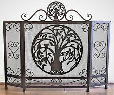 BestGiftEver Tree of Life Heavy Metal Fireplace Screen