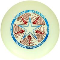 NEW DISCRAFT ULTRA-STAR 175g ULTIMATE FRISBEE DISC - MULTIPLE COLORS AND PLASTIC