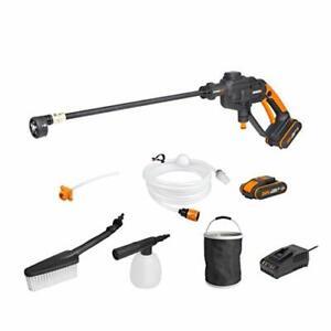 WORX WG620E.4 18V (20V Max) Cordless Hydroshot Portable Pressure Cleaner Kit
