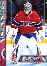 FAN'S CHOICE 2017 CAREY PRICE Topps NHL Skate Digital Card
