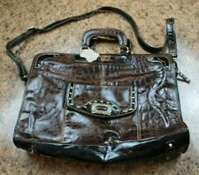 Satchel - Reptil Pattern - Mutli Compartments - Unbranded