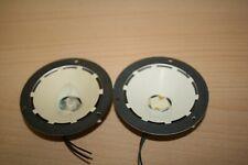 """vintage PAIR 3 """" TELEFUNKEN   ELECTRO STATIC TWEETERS"""