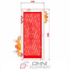 Brandschutz Aluminiumtüre, T30 = Ei30, Brandschutztür, PE78EI 1120 mm x 2090 mm