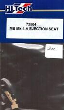 Hi-Tech HiTech 1:72 MB Mk 4 A Ejection Seat Resin Detail #72504