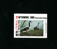 US Stamps # WY 2 XF OG NH Wyoming Duck Stamp Scott Value $50.00