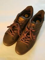Levi Strauss & Co Mens Comfort Brown Casual Low Top Leather Shoe Size 13