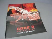 Brochure Only(No Car)-1/64-Code 3-Fdny Aerialscope 75' Tower Ladder Fire Truck