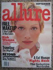 ALLURE 1993 Amber VALLETTA Cindy CRAWFORD Naomi CAMPBELL Carla BRUNI K McMenamy